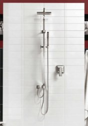 Stile Snow Wall Tile 100X300mm