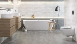 Hampton Grey  Floor & Wall Tile 297x598mm