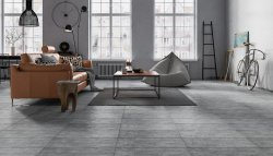 Pietra Dark Grey Floor & Wall Tile 297x598mm