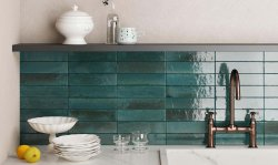 Luminous Blue Floor & Wall Tile 60x240mm