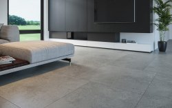 Cotton Grey Internal Floor Tile 593x593mm