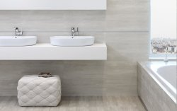 Denver White Floor & Wall Tile 297x598mm