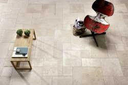 Limoges Avorio Floor and Wall Tile 614x408mm