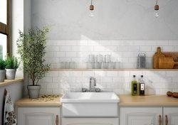 Marseilles Light Grey Wall Tile 75X150mm