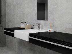 Materia Grey Floor & Wall Tile 300X600mm