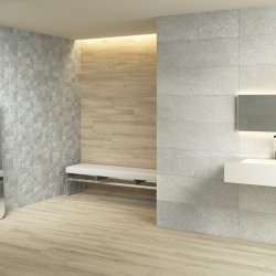Rimini Gris Decor Wall Tile 250x400mm