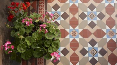 Original Style Tiles Outside and In